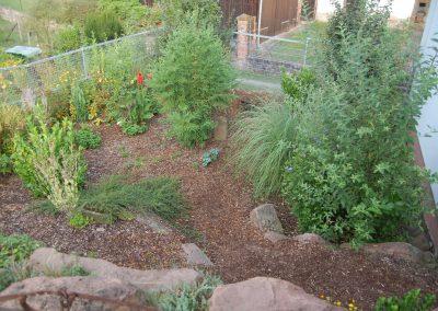 Rustikaler Garten